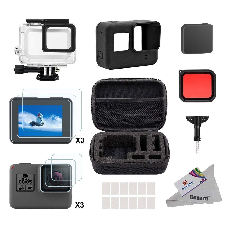 Deyard Accesorios Kit Set para GoPro Hero 8 Hero 7 Hero 6 Hero 5 Hero 4 Hero Fit